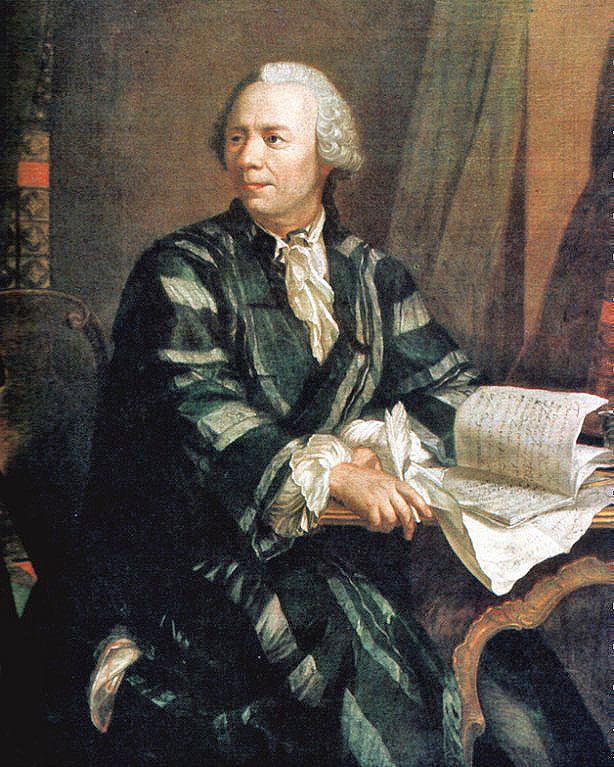 Leonhard Euler Portrait