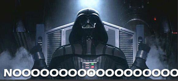 Darth Vader Noooooo