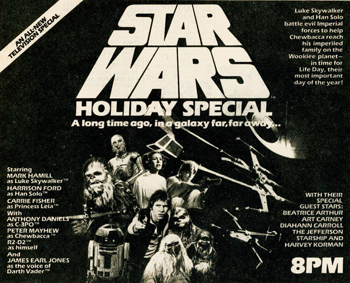 Star Wars Holiday Special Ad